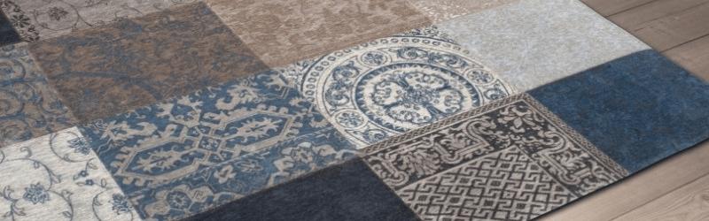 vloerkleed vintage patchwork